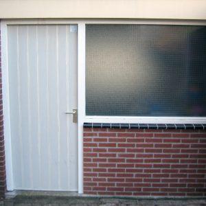 deur en raam gevel garage Van Langen Timmerbedrijf
