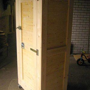 houten kast met panelen Van Langen Timmerbedrijf