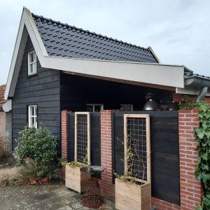 bouw veranda Van Langen Timmerbedrijf